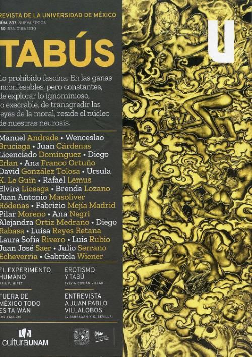 Revista de la Universidad de México, núm. 837, Nueva época, junio 2018