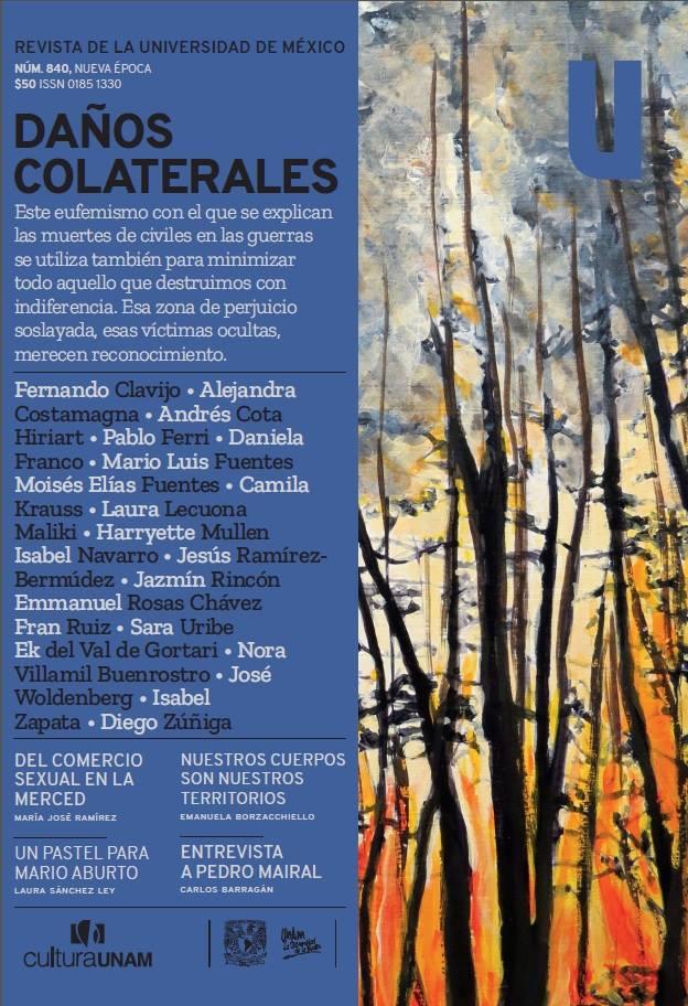 Revista de la Universidad de México, núm. 840, Nueva época, septiembre 2018