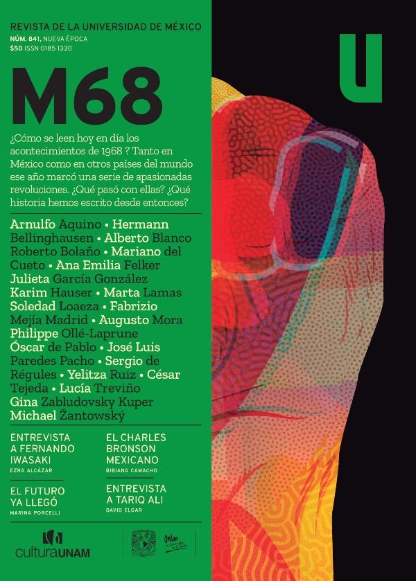Revista de la Universidad de México, núm. 841, Nueva época, octubre 2018