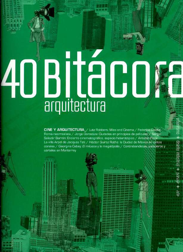 Bitácora arquitectura, núm. 40, julio-noviembre, 2018