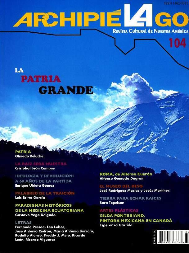 Archipiélago. Revista Cultural de Nuestra América, núm. 104, abril-junio, 2019