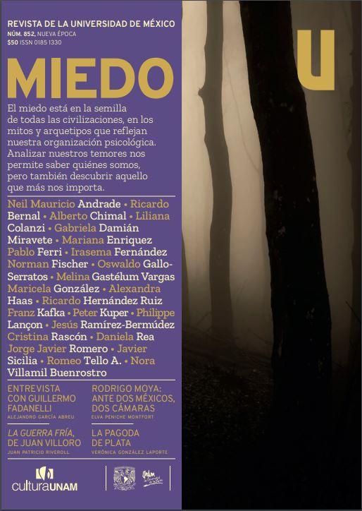 Revista de la Universidad de México, núm. 852, Nueva época, septiembre 2019