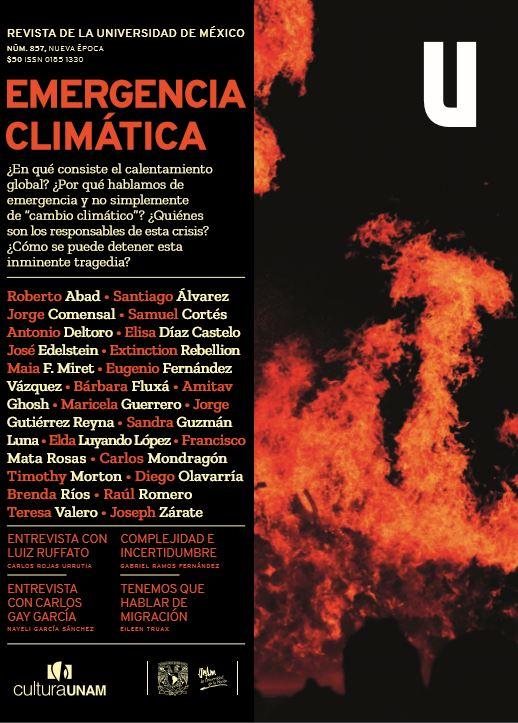 Revista de la Universidad de México, núm. 857, Nueva Época, febrero de 2020 Emergencia climática