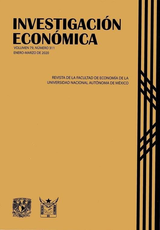 Investigación económica, vol. 79, núm. 311, enero-marzo de 2020