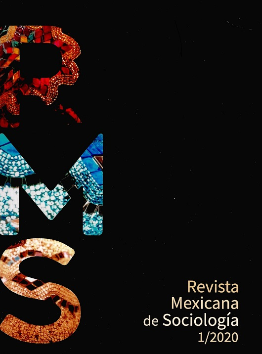 Revista Mexicana de Sociología, año 82, núm. 1 (enero-marzo, 2020)