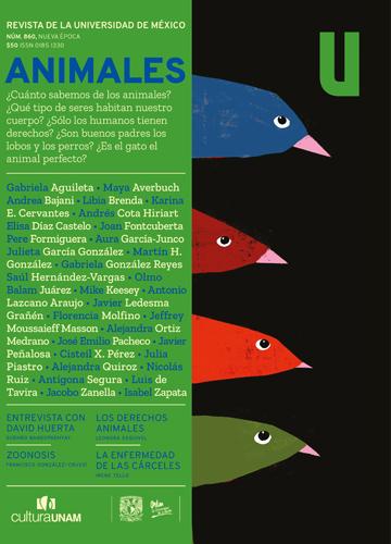 Revista de la Universidad de México, núm. 860, Nueva Época, mayo de 2020 Animales
