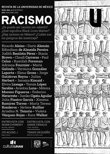 Revista de la Universidad de México, núm. 864, Nueva Época, septiembre de 2020 Racismo