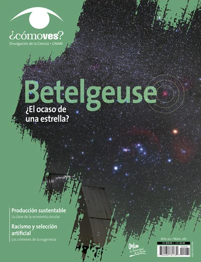 ¿Cómo ves? Revista de Divulgación de la Ciencia, año 22, núm. 261, agosto 2020 Betelguse