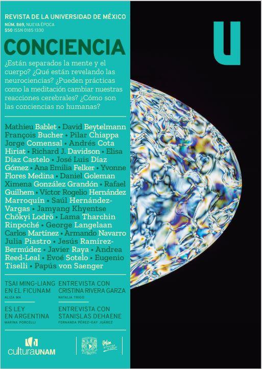 Revista de la Universidad de México, núm. 869, Nueva Época, febrero  de 2021 Conciencia