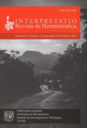 Interpretatio. Revista de Hermenéutica 5-2