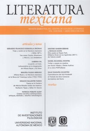 Literatura Mexicana 31-1