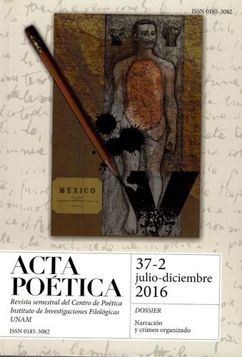 Acta poética 37-2 julio-diciembre 2016