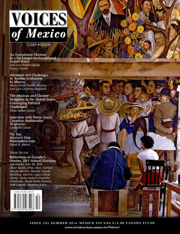 Voices of  Mexico, Issue 101 Summer 2016