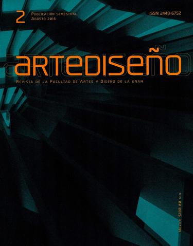 Artediseño. Revista de la Facultad de Artes y Diseño de la UNAM, núm. 2, agosto 2016