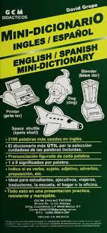 Mini diccionario ingles-español