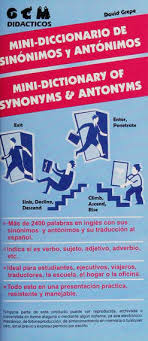 Mini diccionario de sinonimos y antonimos