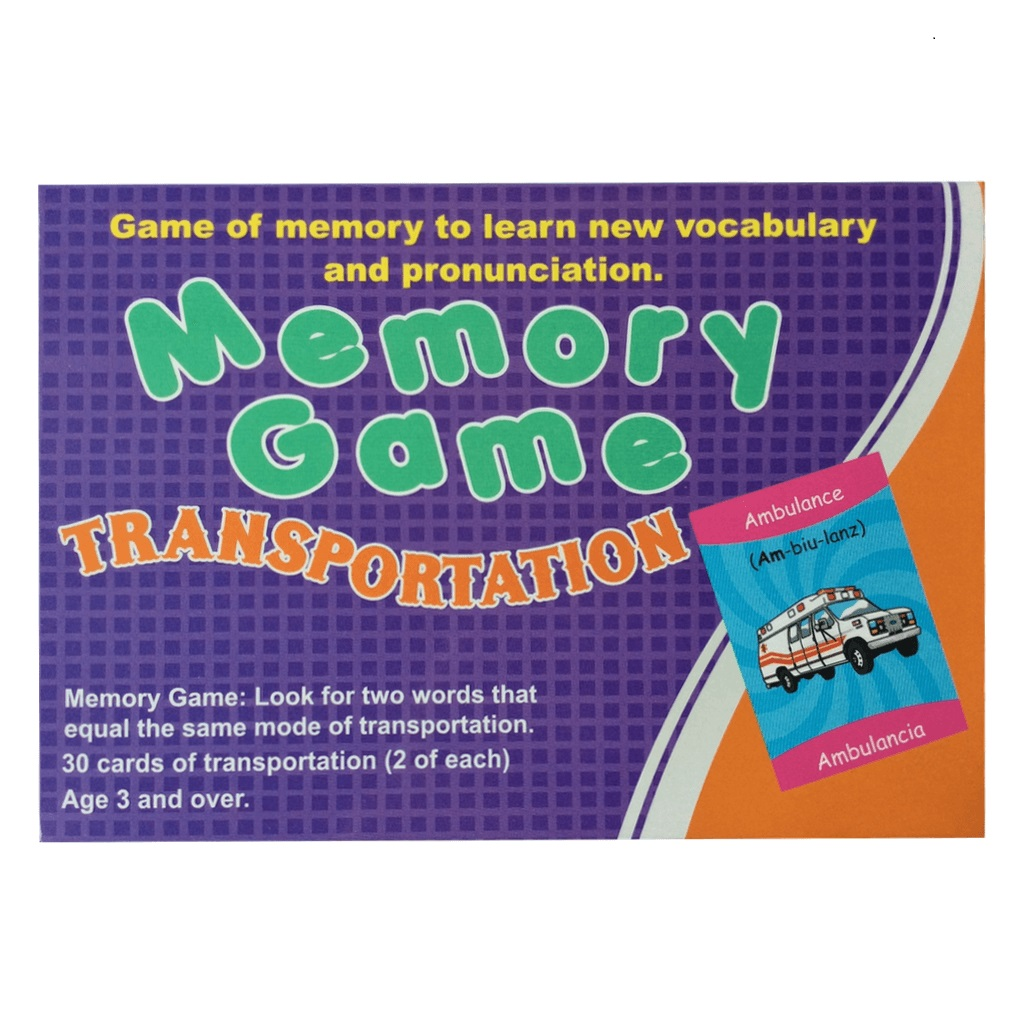 Memory game transportation