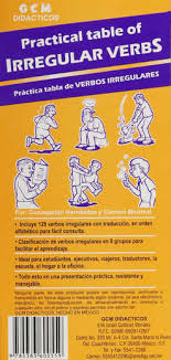 Practical table of irregular verbs