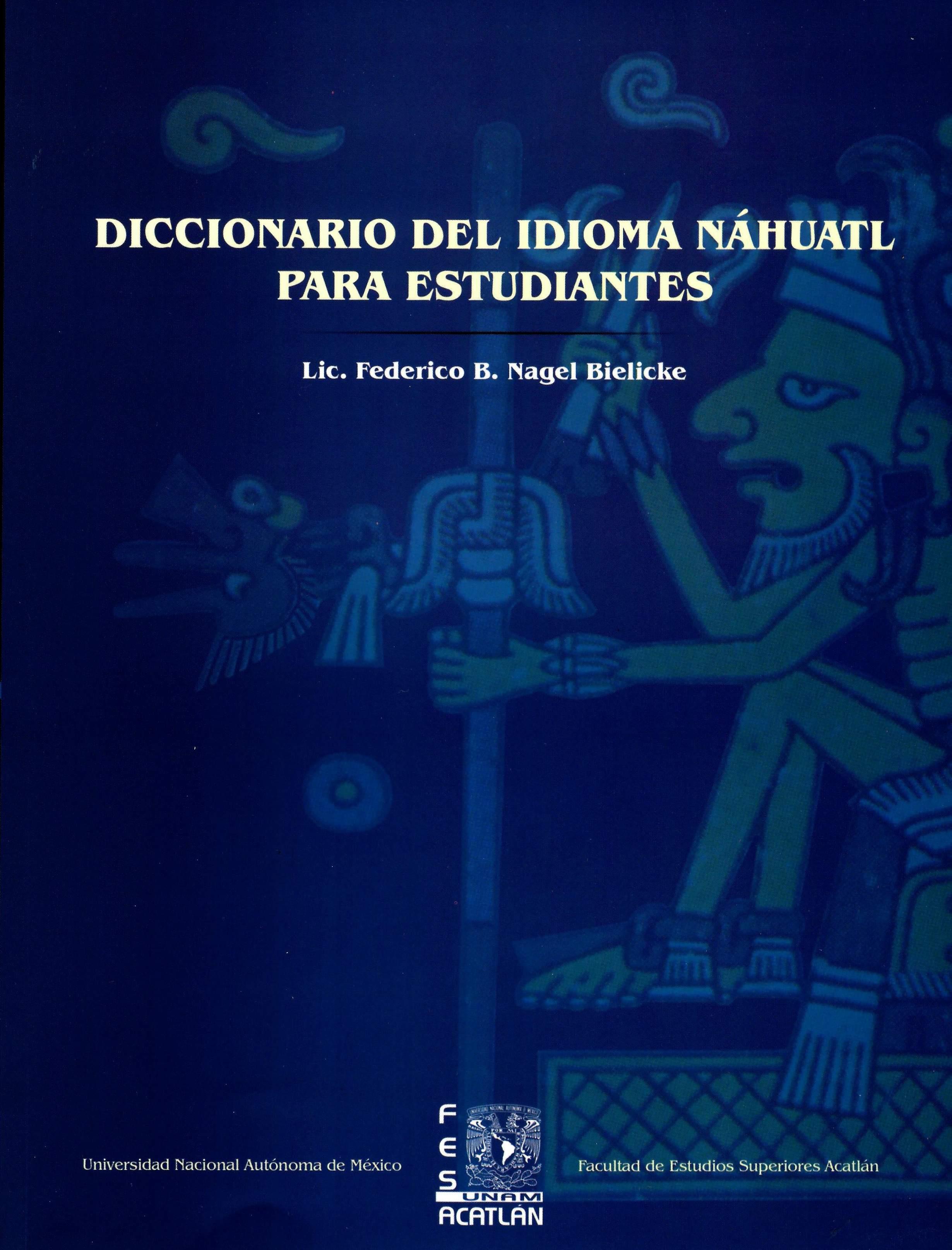 Diccionario del idioma náhuatl para estudiantes