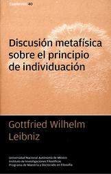 Discusión metafísica sobre el principio de individuación