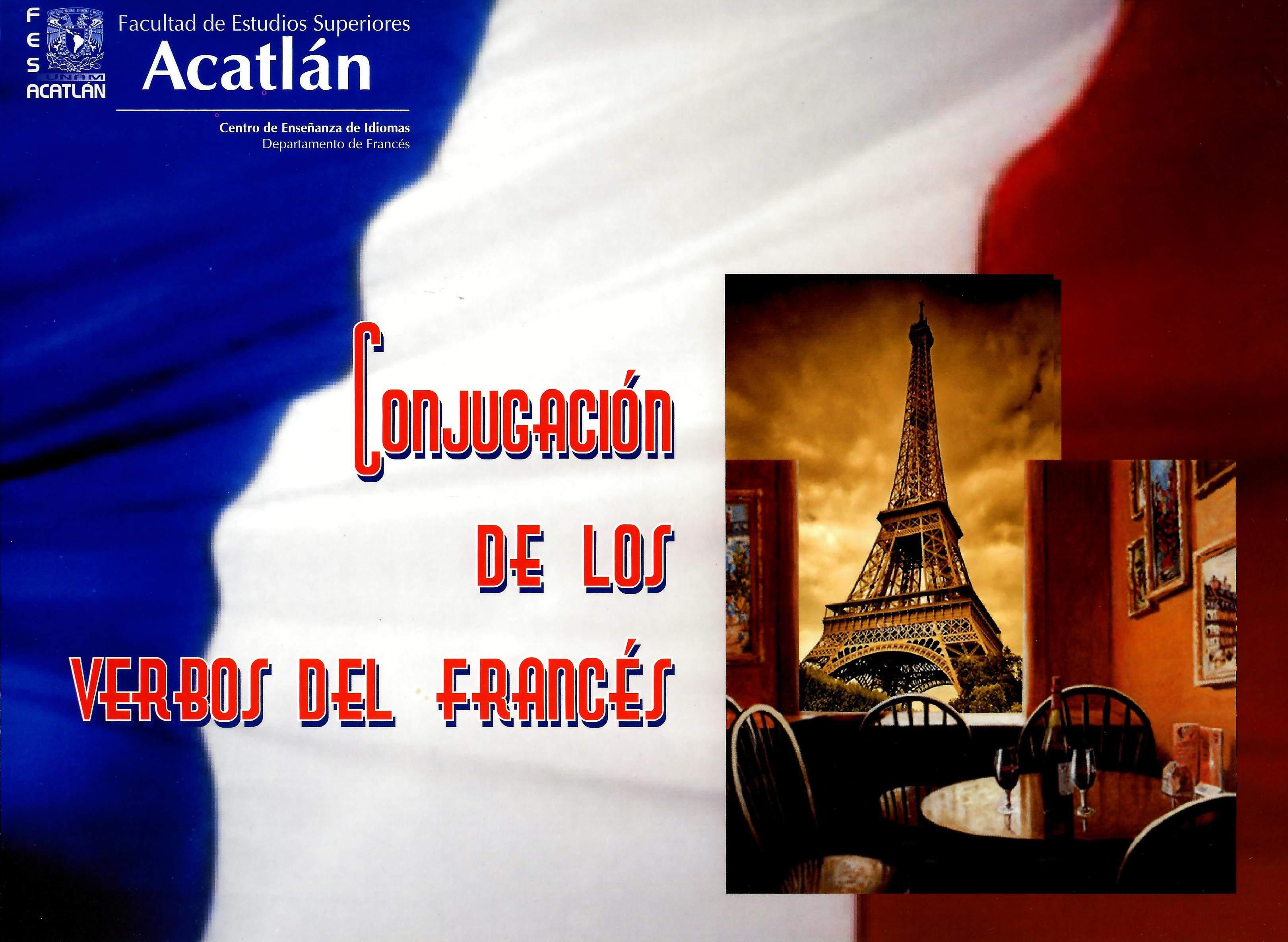 Conjugación de los verbos del francés