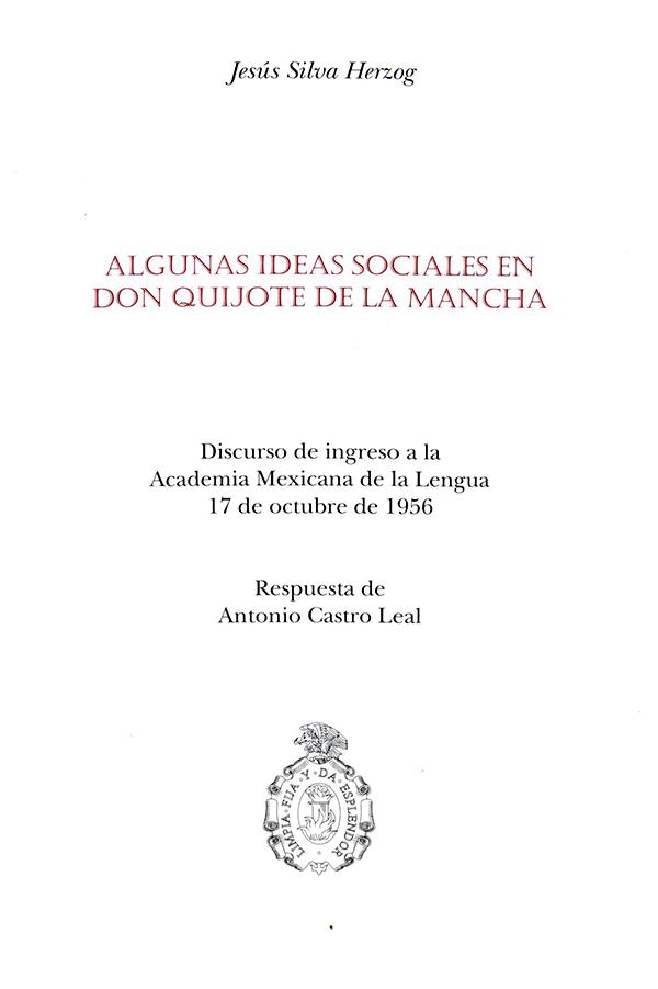 Algunas ideas sociales en Don Quijote de la mancha