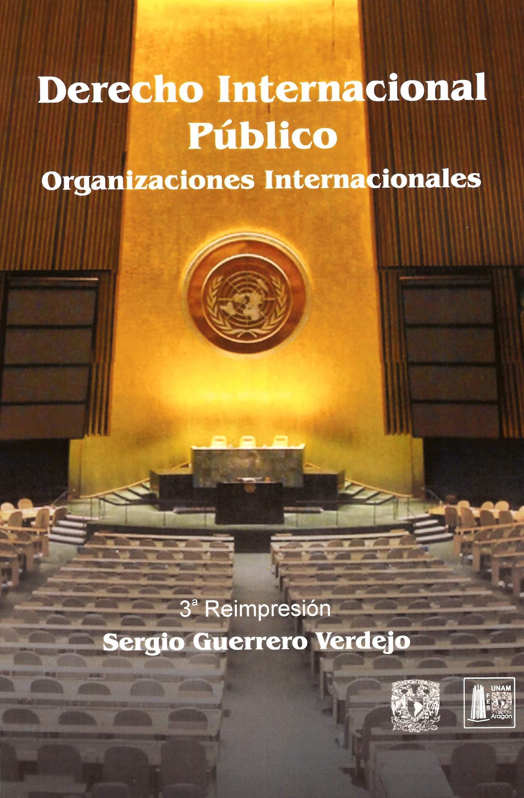 Derecho internacional público: organizaciones internacionales