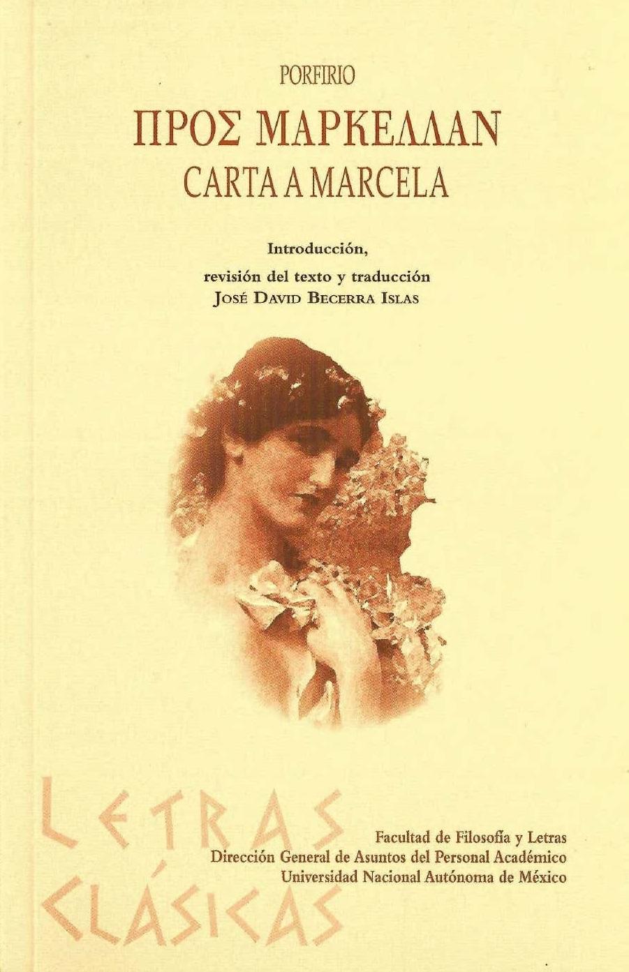 Carta a Marcela