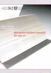 Bibliografia filosófica mexicana del siglo XX CD