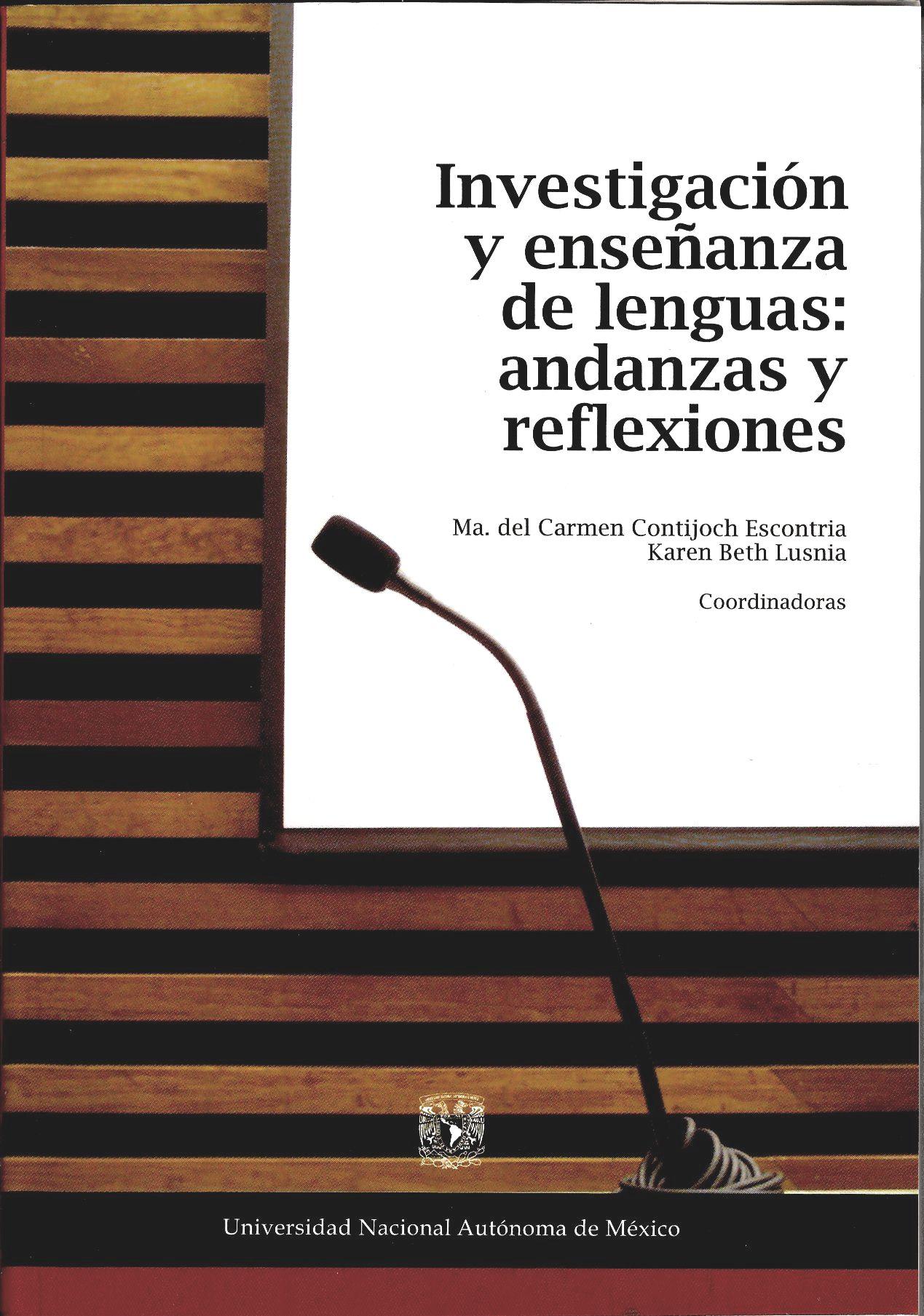 Investigación y enseñanza de lenguas andanzas y reflexiones