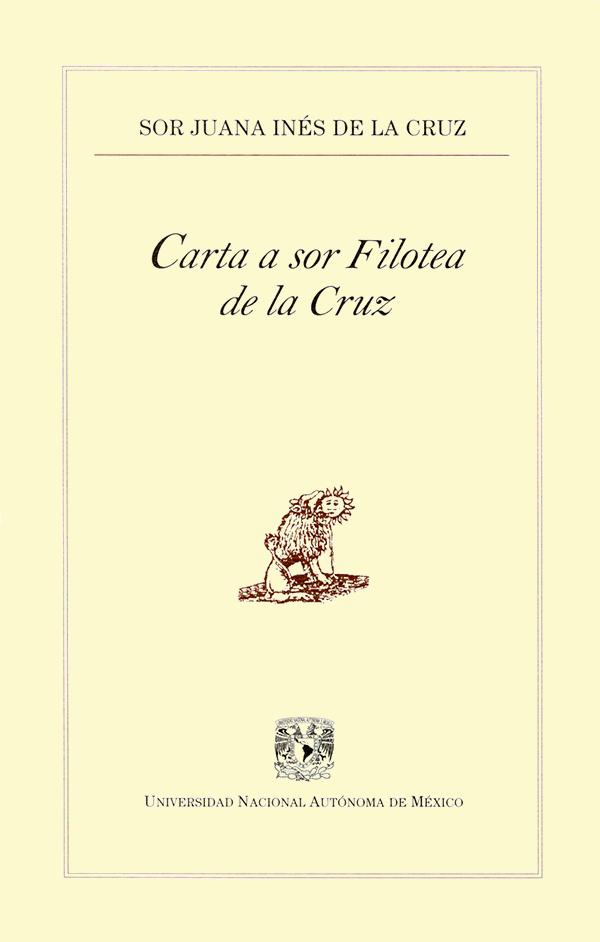 Carta a sor Filotea de la Cruz