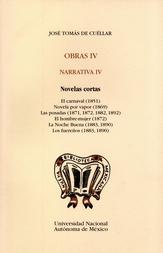 Obras IV. Narrativa IV. Novelas cortas (tela)