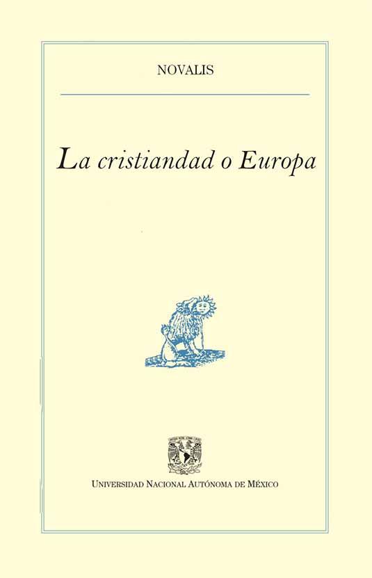 La cristiandad o Europa
