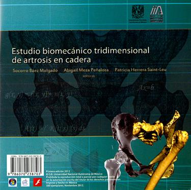 Estudio biomecánico tridimensional de artrosis en cadera