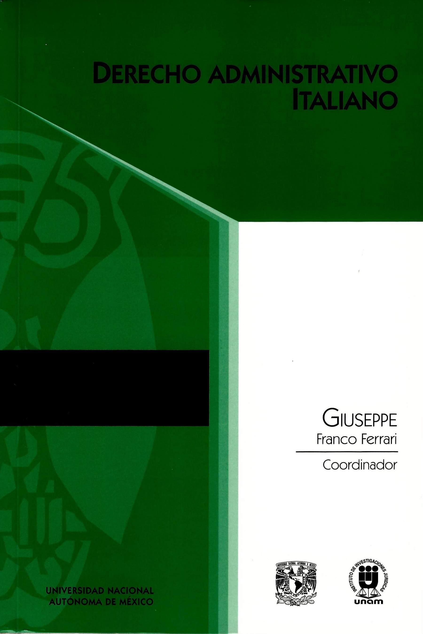 Derecho administrativo italiano