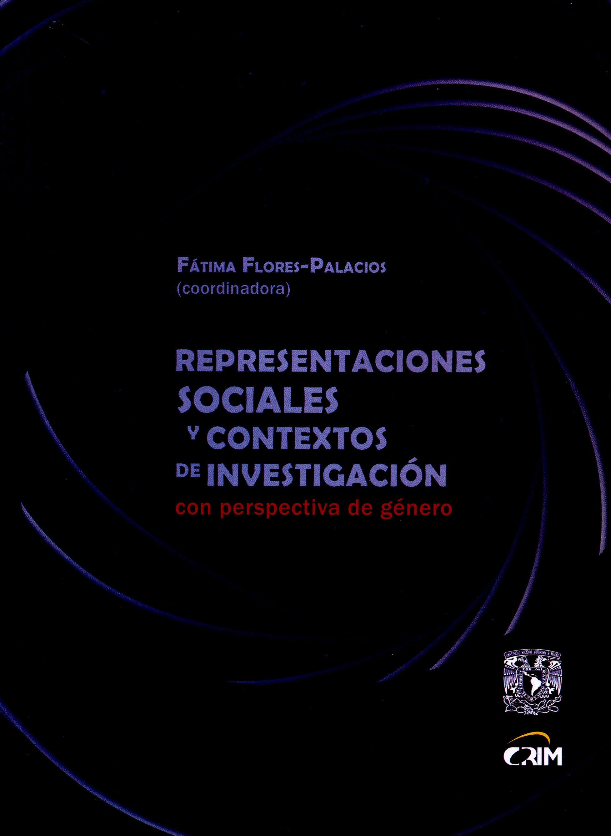 Representaciones sociales y contextos de investigación con perspectiva de género