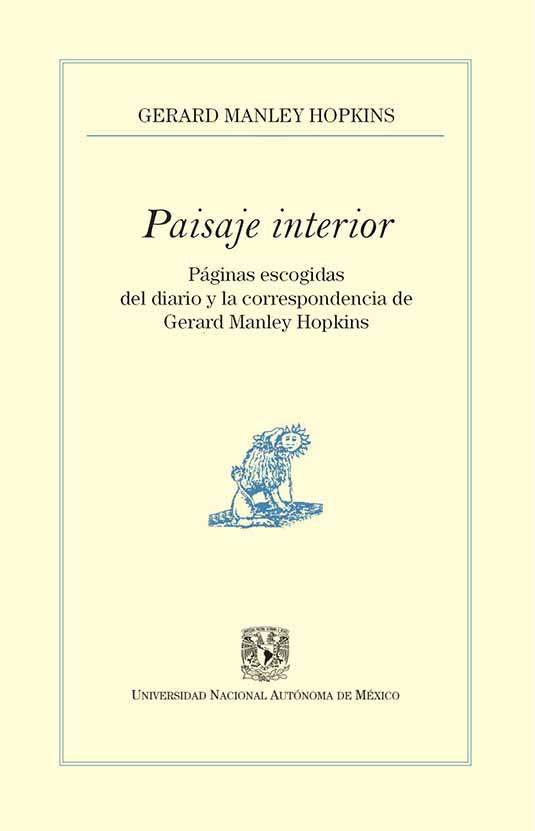 Paisaje interior. Páginas escogidas del diario y la correspondencia de MANLEY HOPKINS