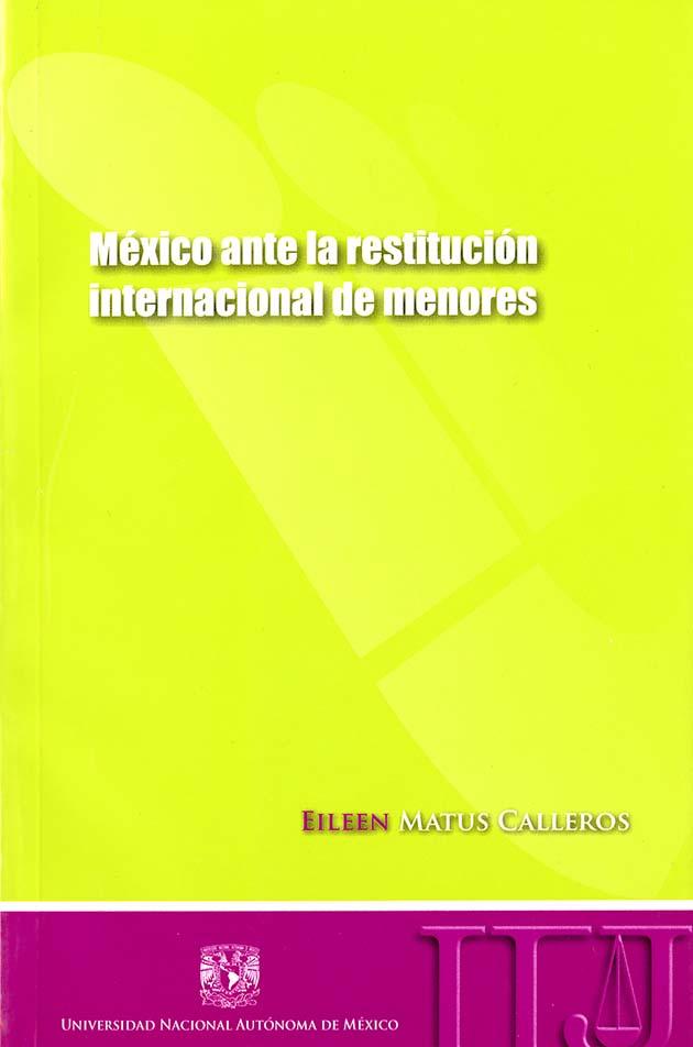 México ante la restitución internacional de menores