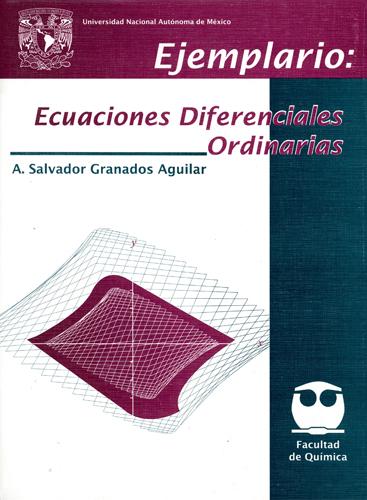 Ejemplario. Ecuaciones diferenciales ordinarias