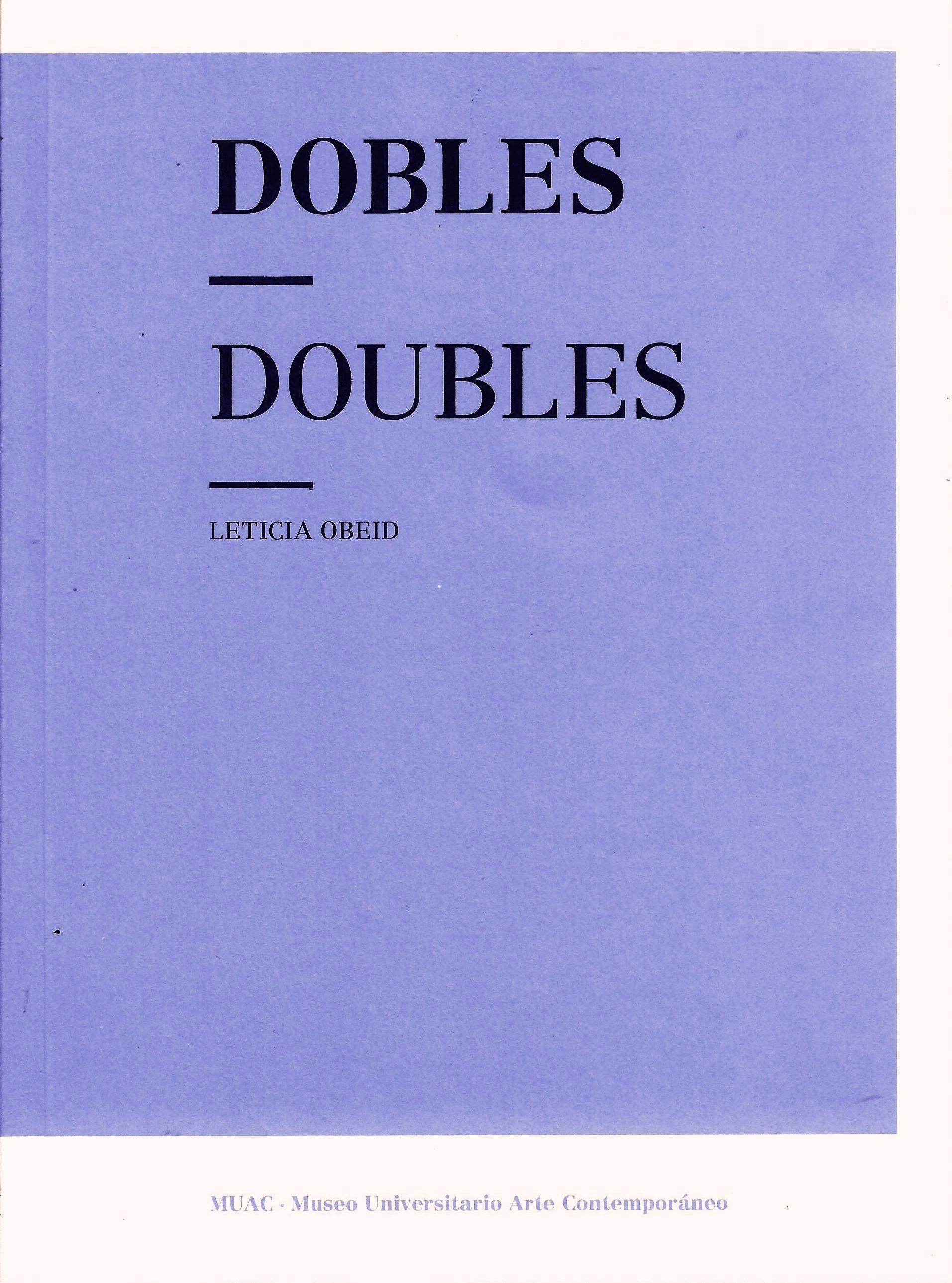Dobles / Doubles