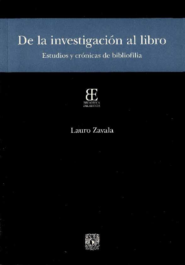 De la investigación al libro