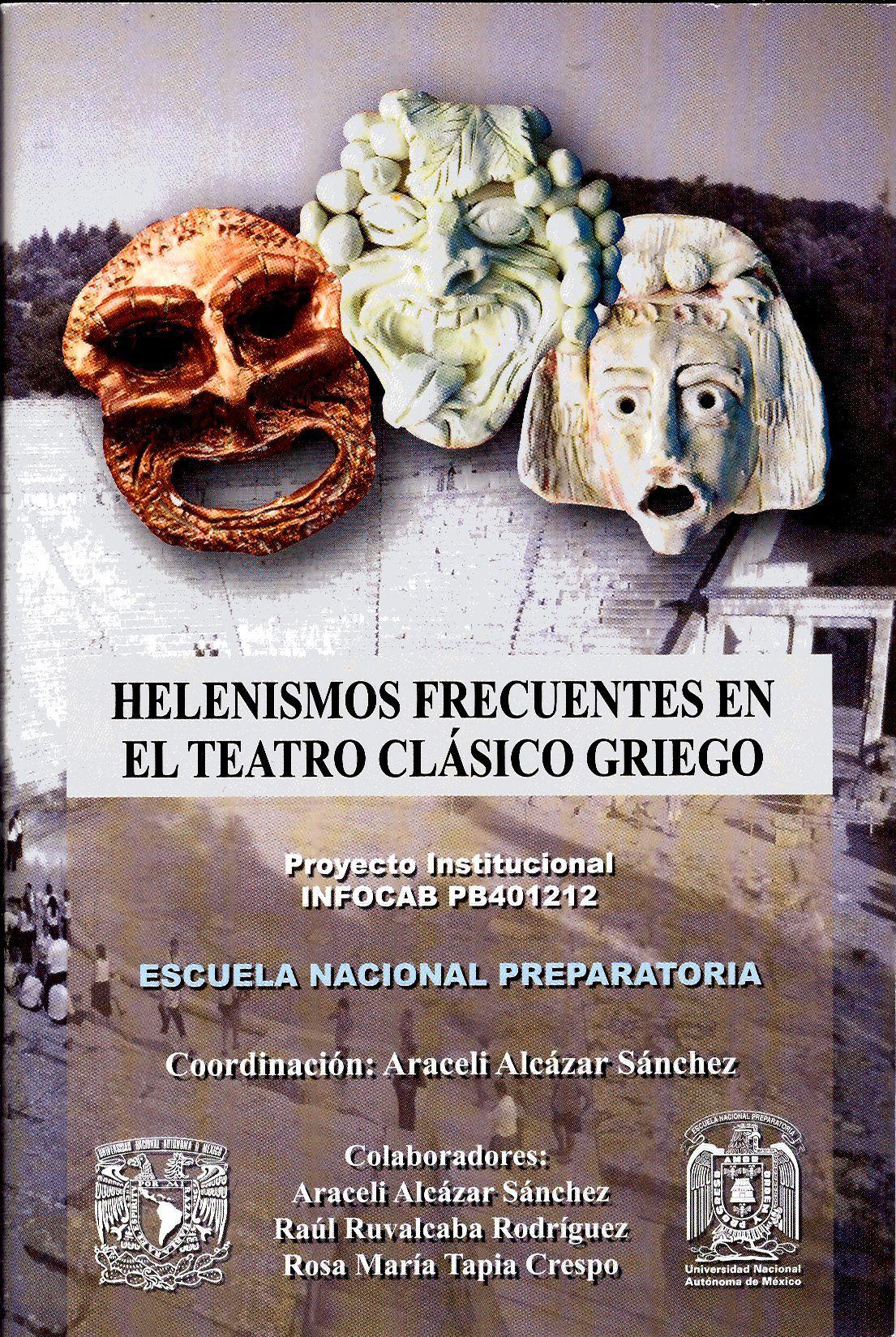 Helenismos frecuentes en el teatro clásico griego