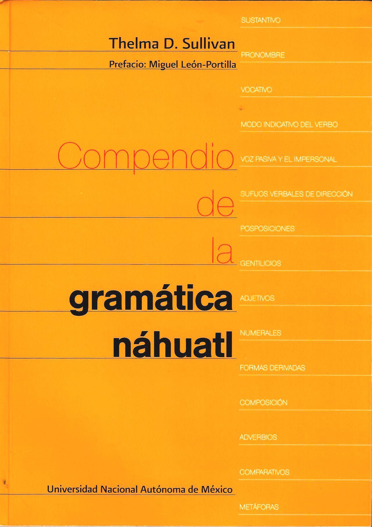 Compendio de la gramática nahuatl