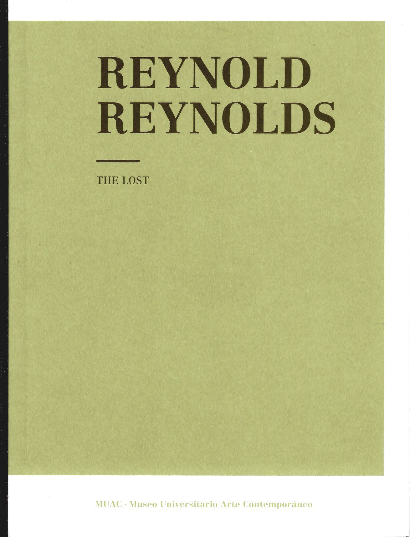 Reynold Reynolds. The Lost
