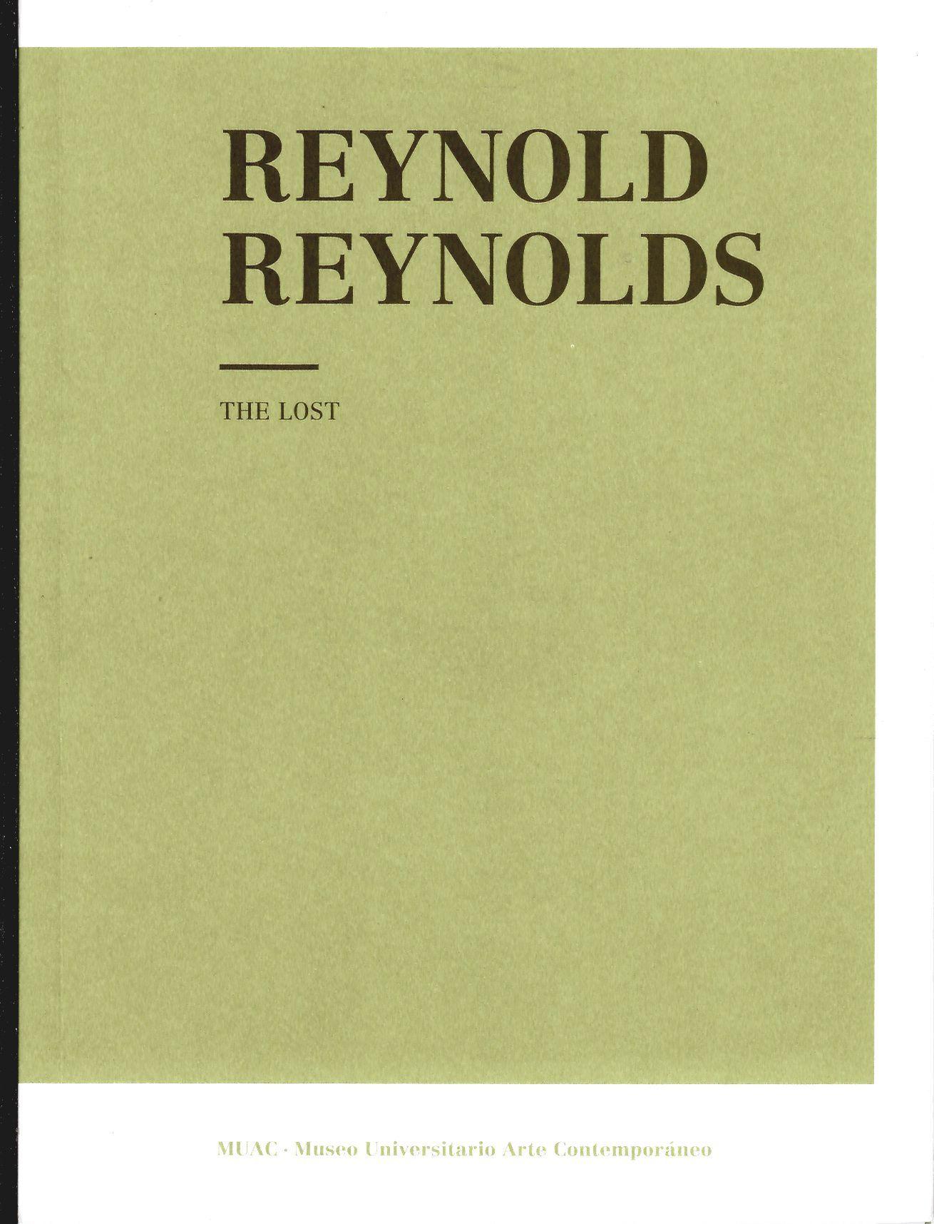 Reynold Reynolds. The Lost