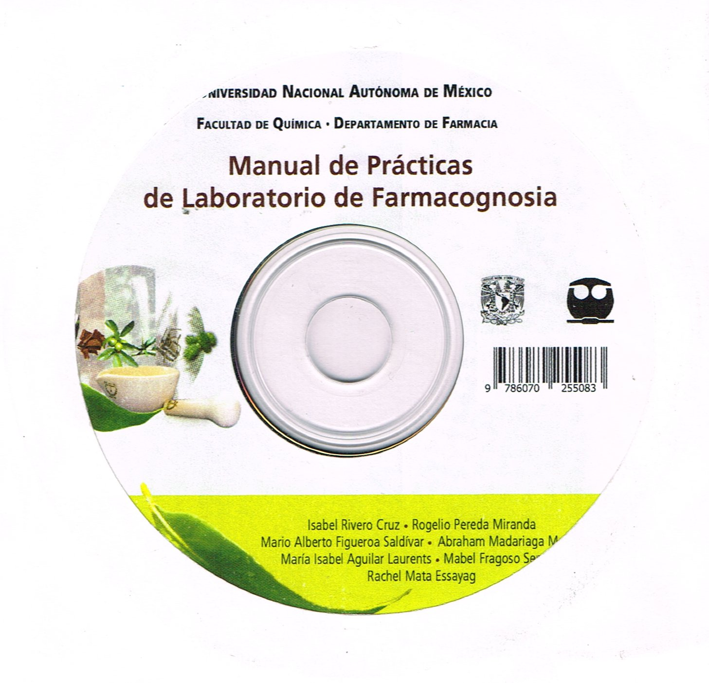 Manual de prácticas de laboratorio de farmacognosia
