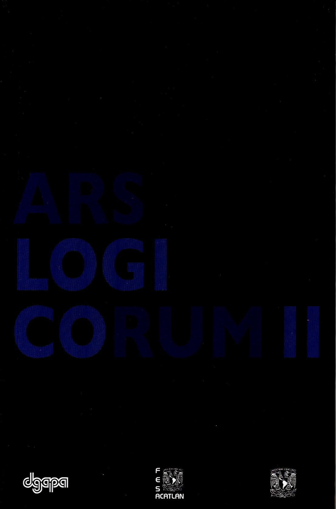Ars logicorum II