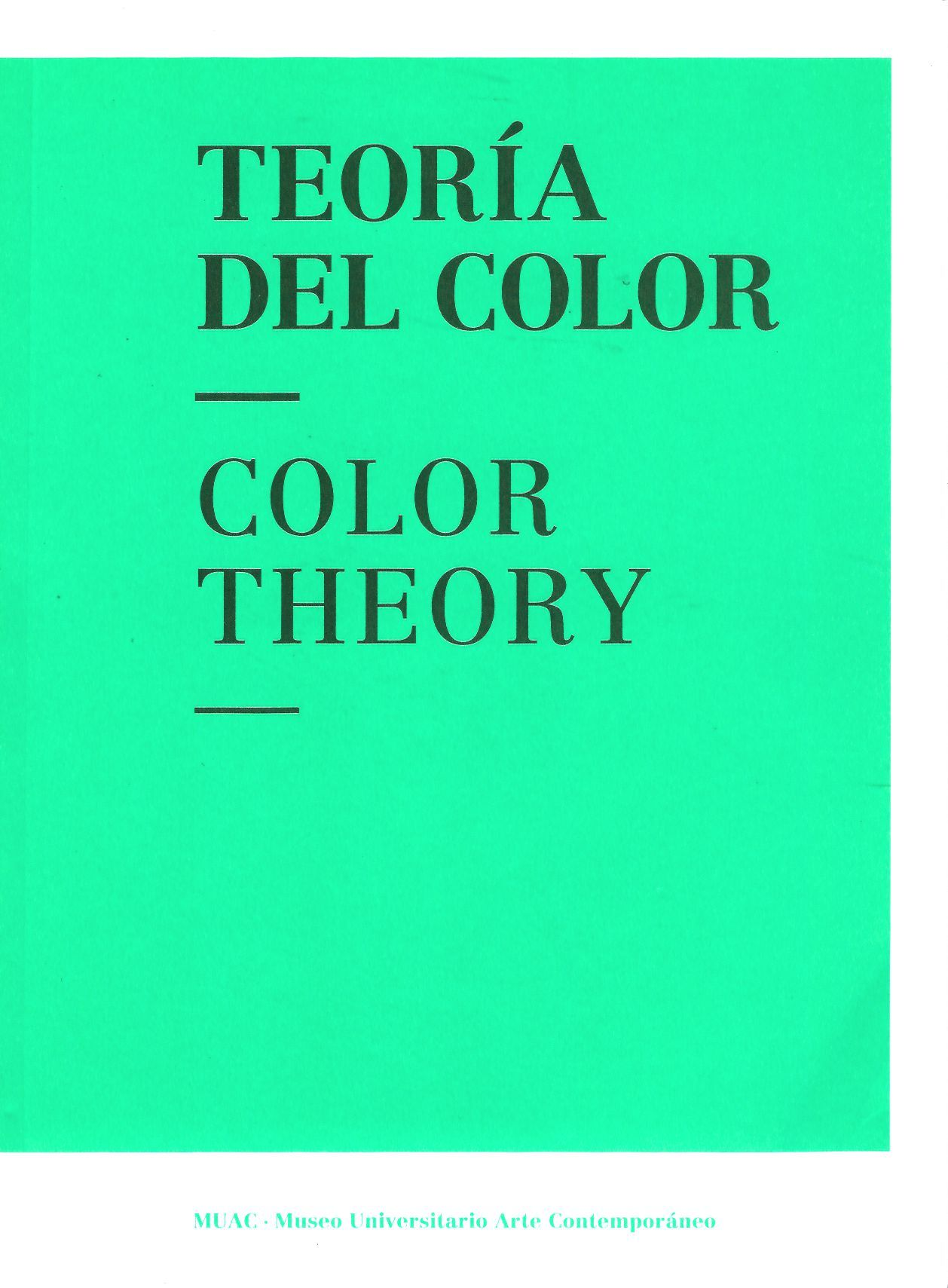 Teoria del color / Color Theory