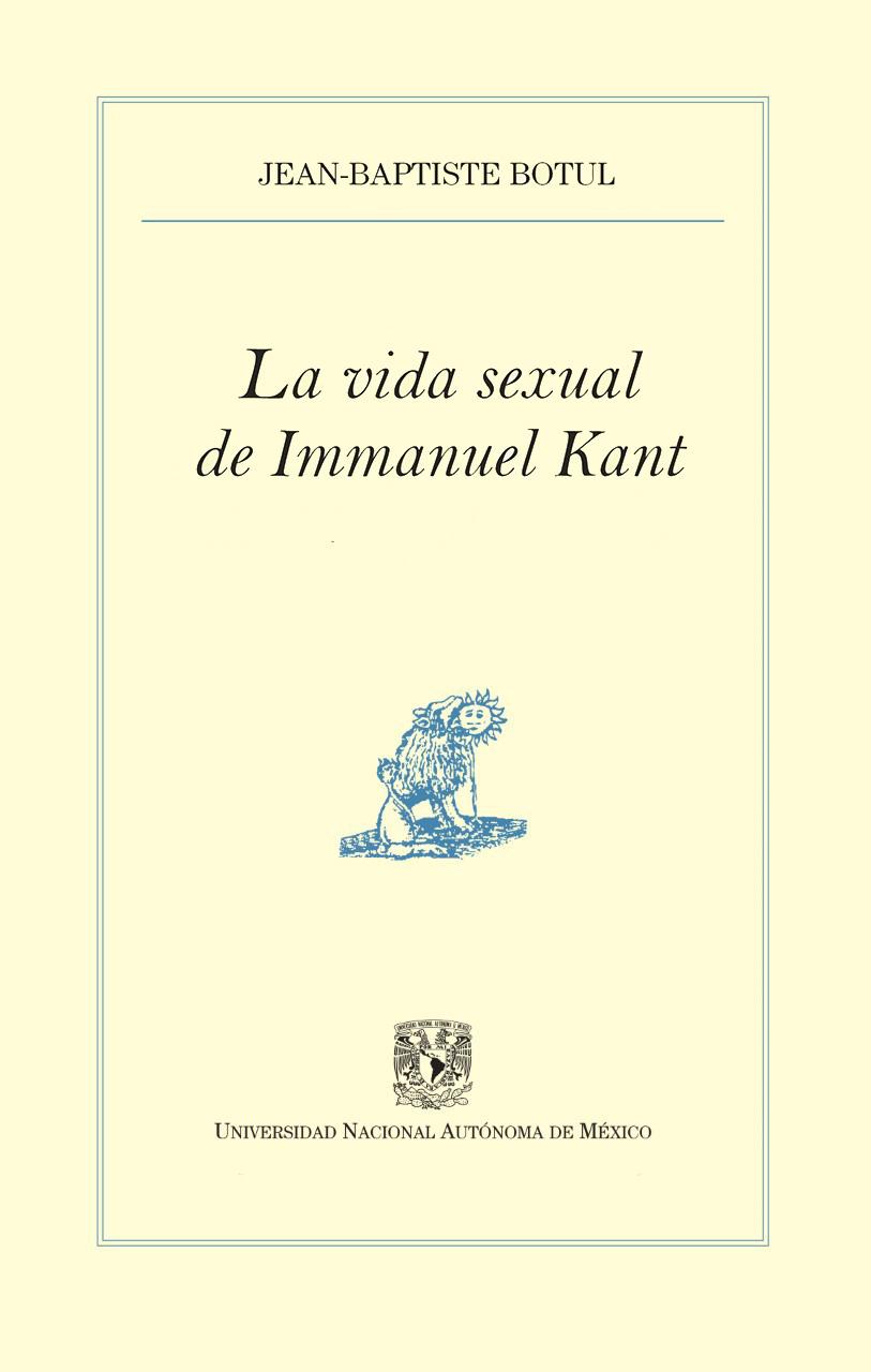 La vida sexual de Immanuel Kant