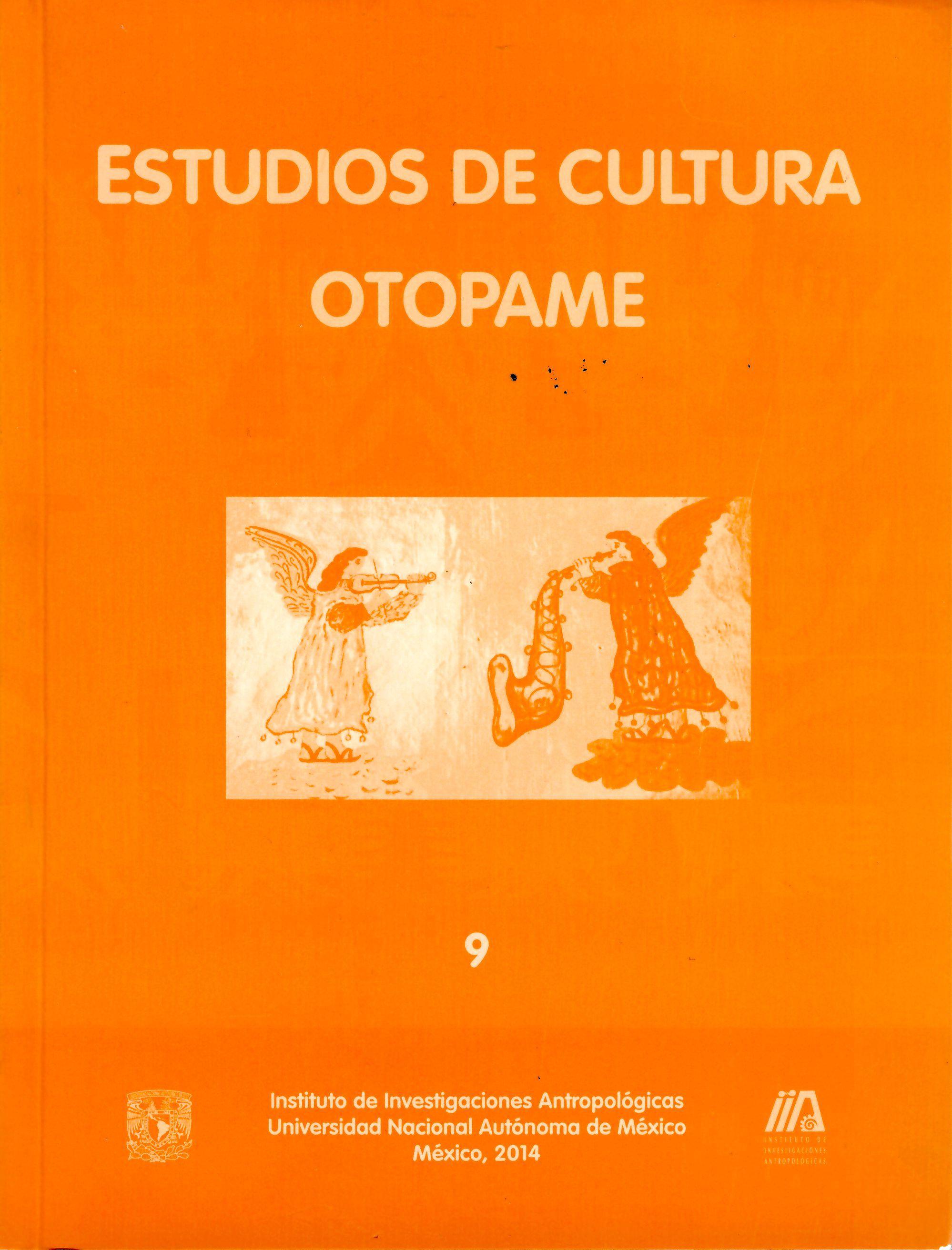 Estudios de Cultura Otopame núm.9